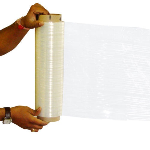 "18"" x 1000' x 80 EQ Hand Stretch Wrap Film 1 Roll by PackagingSuppliesByMail"