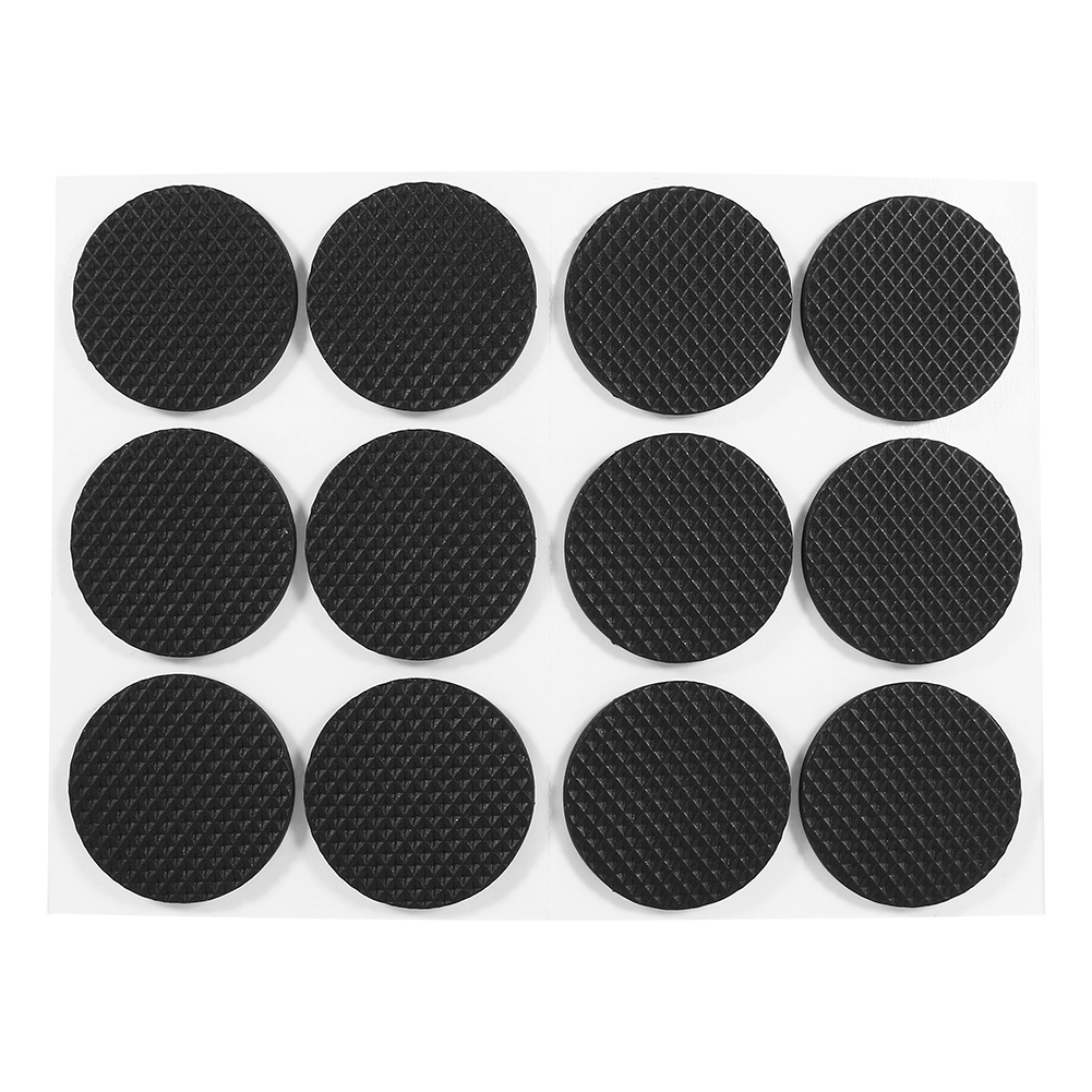 12Pcs Black Self Adhesive Floor Protectors Furniture Sofa Table Chair  Rubber Feet Pad Round, Floor Protector Rubber Pads, Protector Rubber Pad    Walmart.com