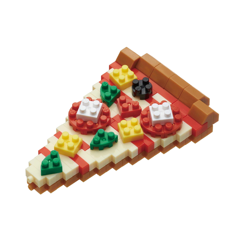 Pizza Mini Building Sets by Nanoblock (NBC244) by nanoblock