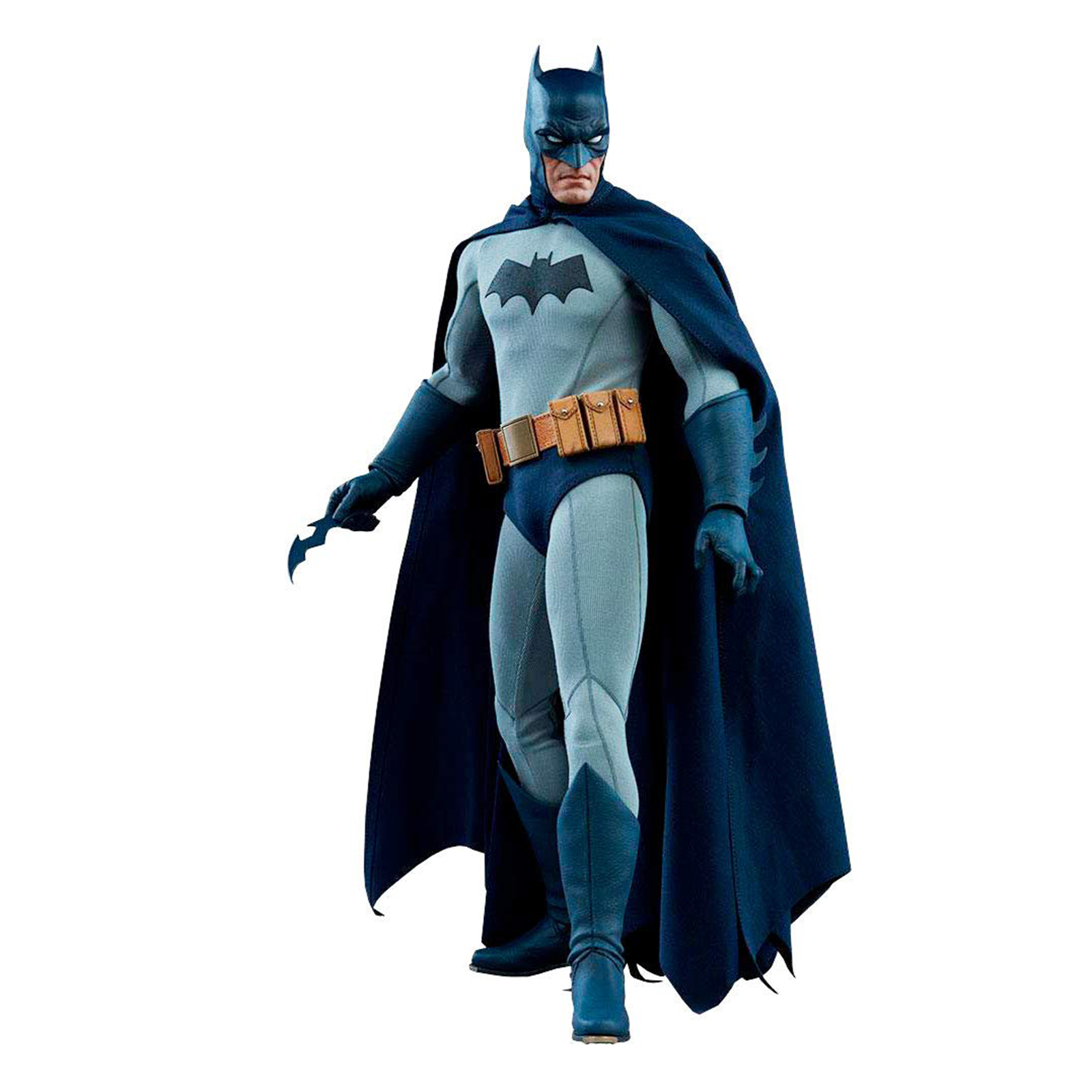 Sideshow Dark Knight DC Blue Gray Suit 12 Inch Action Figure NEW IN STOCK