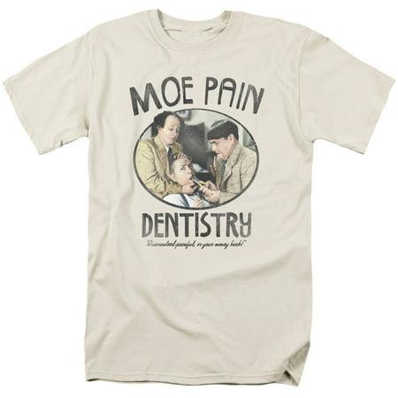 The Three Stooges Moe Pain Mens Short Sleeve Shirt](Three Stooges Golf)