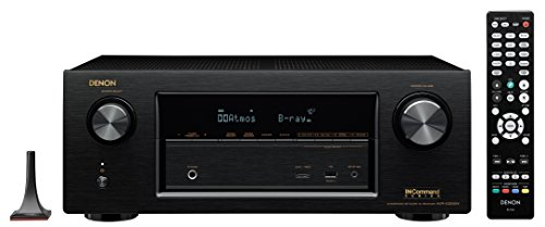 Denon AVRX3200W 7.2 Channel Full 4K Ultra HD A V Receiver with Bluetooth and Wi-Fi by Denon