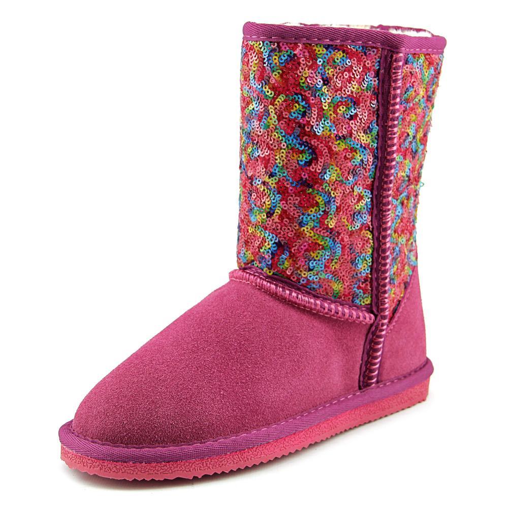 Lamo Swquin Girl Pattern Round Toe Leather Winter Boot by Lamo