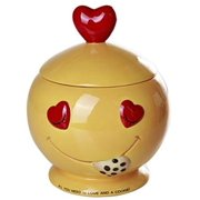 Pacific Giftware All You Need is Love and Cookies Ceramic Cookie Jar 8 Inch Tall