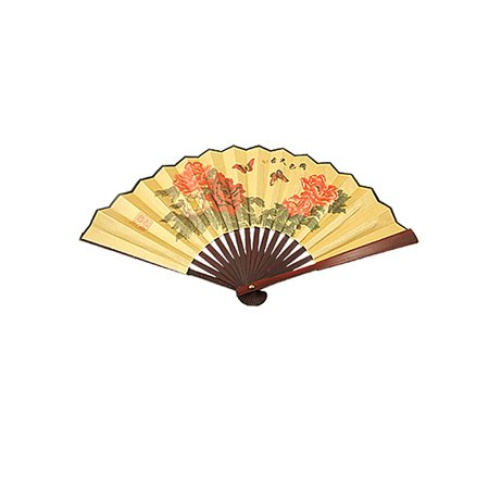 Unique Bargains Chinese Character Printed Paper Bamboo Folding Fan for - Chinese Paper Fan