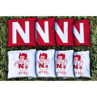 Nebraska Cornhuskers College Vault Replacement All-Weather Cornhole Bag Set - No Size
