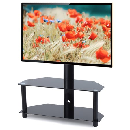 Rfiver Entertainment Center 2-Shelf Swivel Mount for TVs up to 55