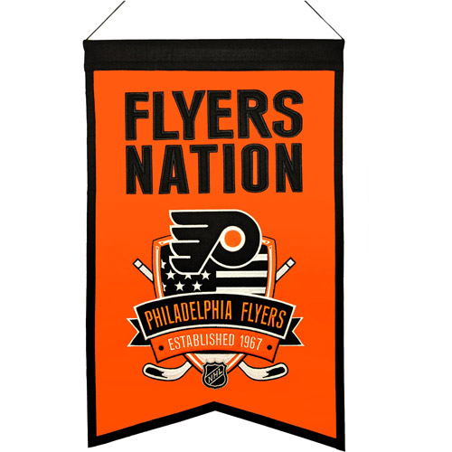 NHL Nations Banner, Philadelphia Flyers
