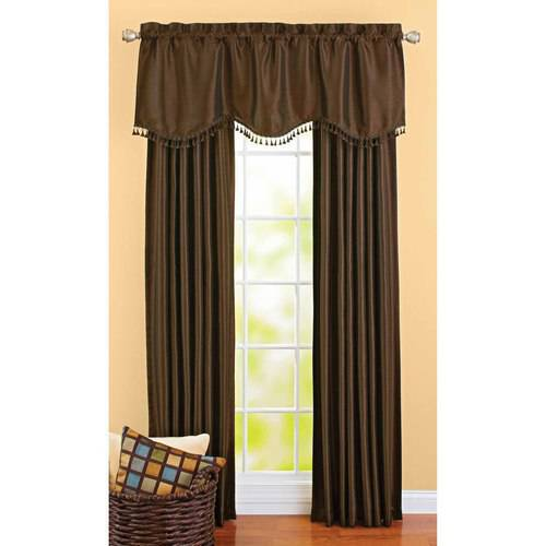 Better homes and gardens crushed taffeta window curtains Better homes and gardens curtains