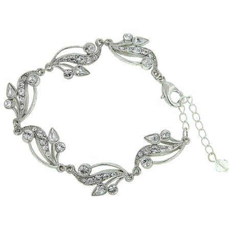 Antiquities Couture Bridal Crystal Fantasy Bracelet NEW