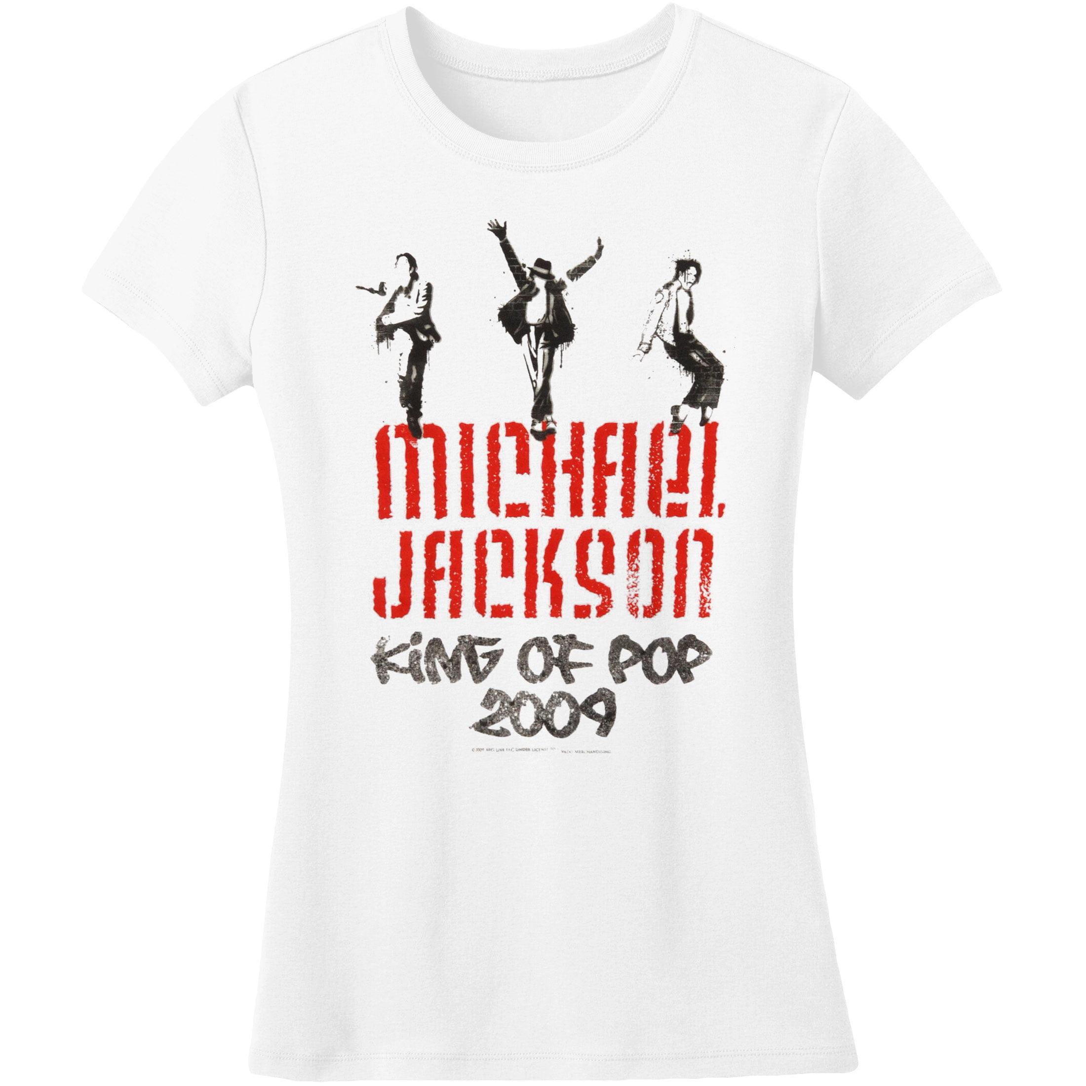 Michael Jackson  Graffiti Girls Jr Soft tee White
