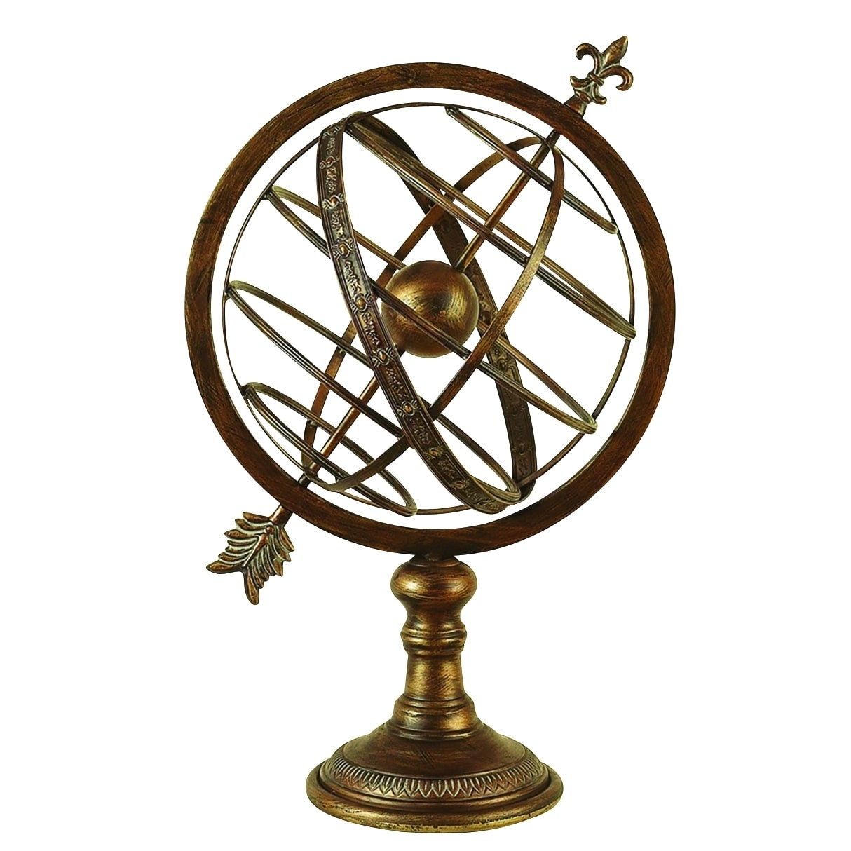 Benzara Metal Armillary Sphere