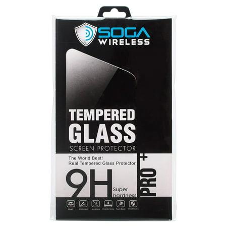 SOGA Compatible for Motorola Moto E5 Play/Moto E5 Cruise Tempered Glass HD Screen Protector Guard -