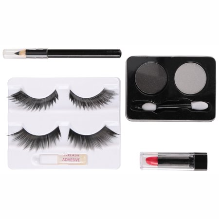 Halloween Makeup Cut Eye (Fun World® Cat Eyes Makeup Kit 9 pc Carded)