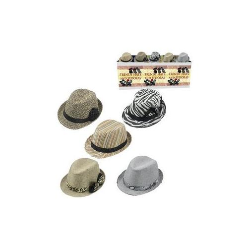 Ladies Fedora Hats Retail 9.99 (Pack of 60)