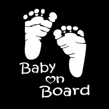 CieKen Quality Baby On Board Vinyl Car Graphics Window Vehicle Sticker Decal Decor Auto Window Decal Graphics