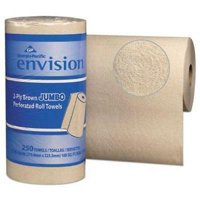 Envision 28290 Kitchen 2-Ply Paper Towel Rolls, 12 Rolls