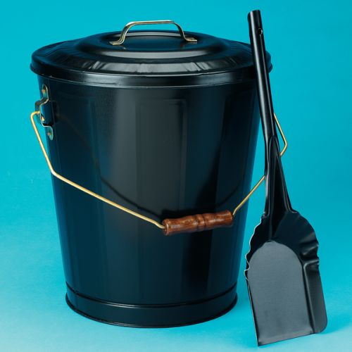Woodfield 73110 Double Bottom Ash Container & Shovel Set by Imperial Manufacturi