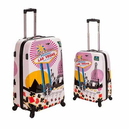 Rockland Luggage 2-Piece Vegas Polycarbonate Luggage Set