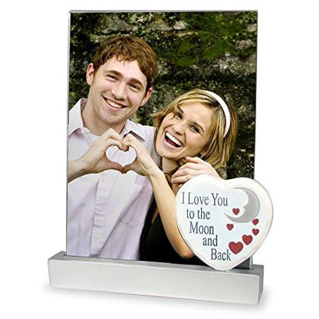 I Love You To The Moon And Back Picture Frame Walmartcom