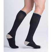 Sigvaris Merino Outdoor Performance 422CLS31 20-30mmHg Closed Toe, Calf Socks - Olive, Long Small