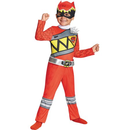 Red Ranger Dino Classic Boys Child Halloween Costume](Forest Ranger Halloween Costume)
