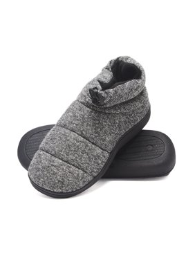 7666e9864073 Product Image Hanes Men s Slipper Boot House Shoes with Indoor Outdoor  Memory Foam Odor Protection Fresh IQ Sole