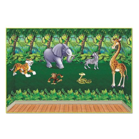 Jungle Insta Theme Decorating Easy Pack - Jungle Theme Prom