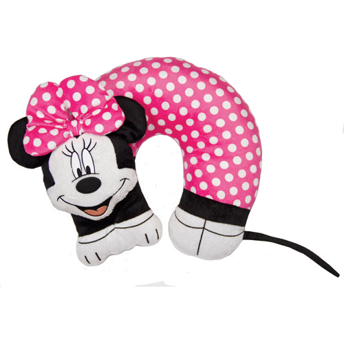 Disney Minnie Mouse 3D Character Neck Pillow