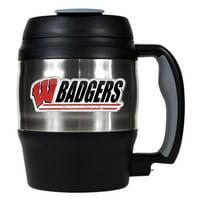 Great American NCAA 52 oz. Macho Travel Mug with Bottle Opener