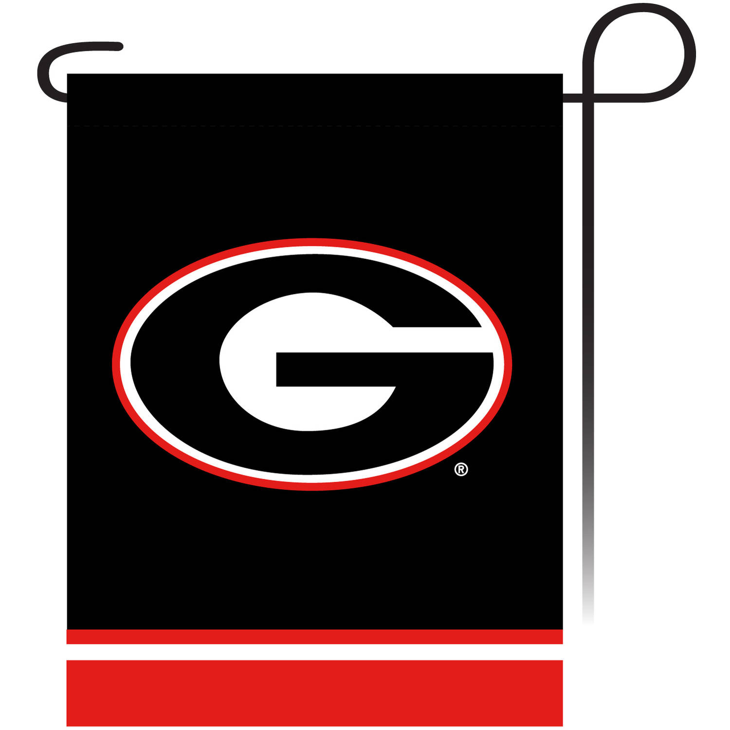 University of Georgia Garden Flag