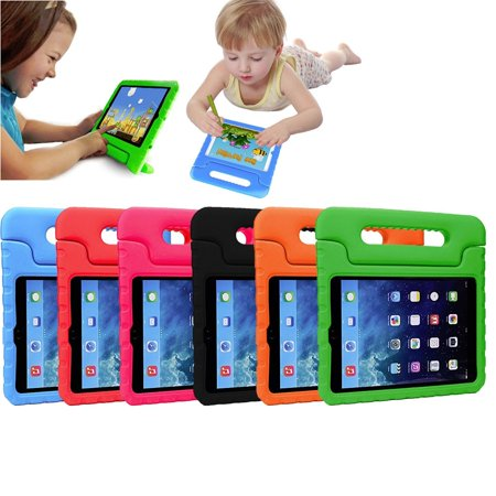 iPad 9.7 5th 6th Gen Kids Case by KIQ Child-Friendly Fun Kiddie Tablet Cover EVA Foam For Apple iPad Air, Air2, Pro 9.7 (2016), iPad 5th 6th Gen