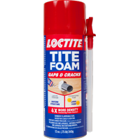 Loctite TITE FOAM Gaps & Cracks Insulating Foam, 12 Oz.