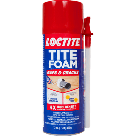 Wall Foam Insulation - Loctite 12 fl. oz. Tite Foam Insulating Foam