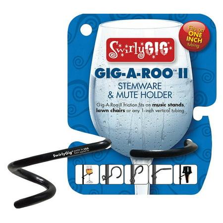 SwirlyGig GR2000 Gigaroo Ii 2 Mute or Stemware Holder for 1 - Fidelity Stemware