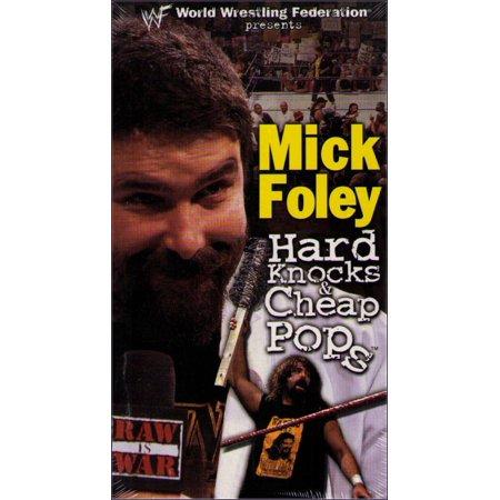 WWF Mick Foley Hard Knocks & Cheap Pops (2000) Wrestling WWE VHS Tape (Wwe 1999 Vhs)