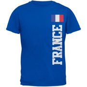 World Cup France Blue Youth T-Shirt - Youth Large