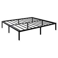 3000lbs Max Weight Capacity TATAGO 16 Inch Tall Heavy Duty Metal Platform Bed Frame Mattress Foundation, Extra-strong Support &Non-Slip, No noise & No Box Spring Need for Saving Money, King