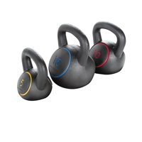 Gold's Gym 5 -15 Lbs. Kettlebell Kit with Exercise Chart