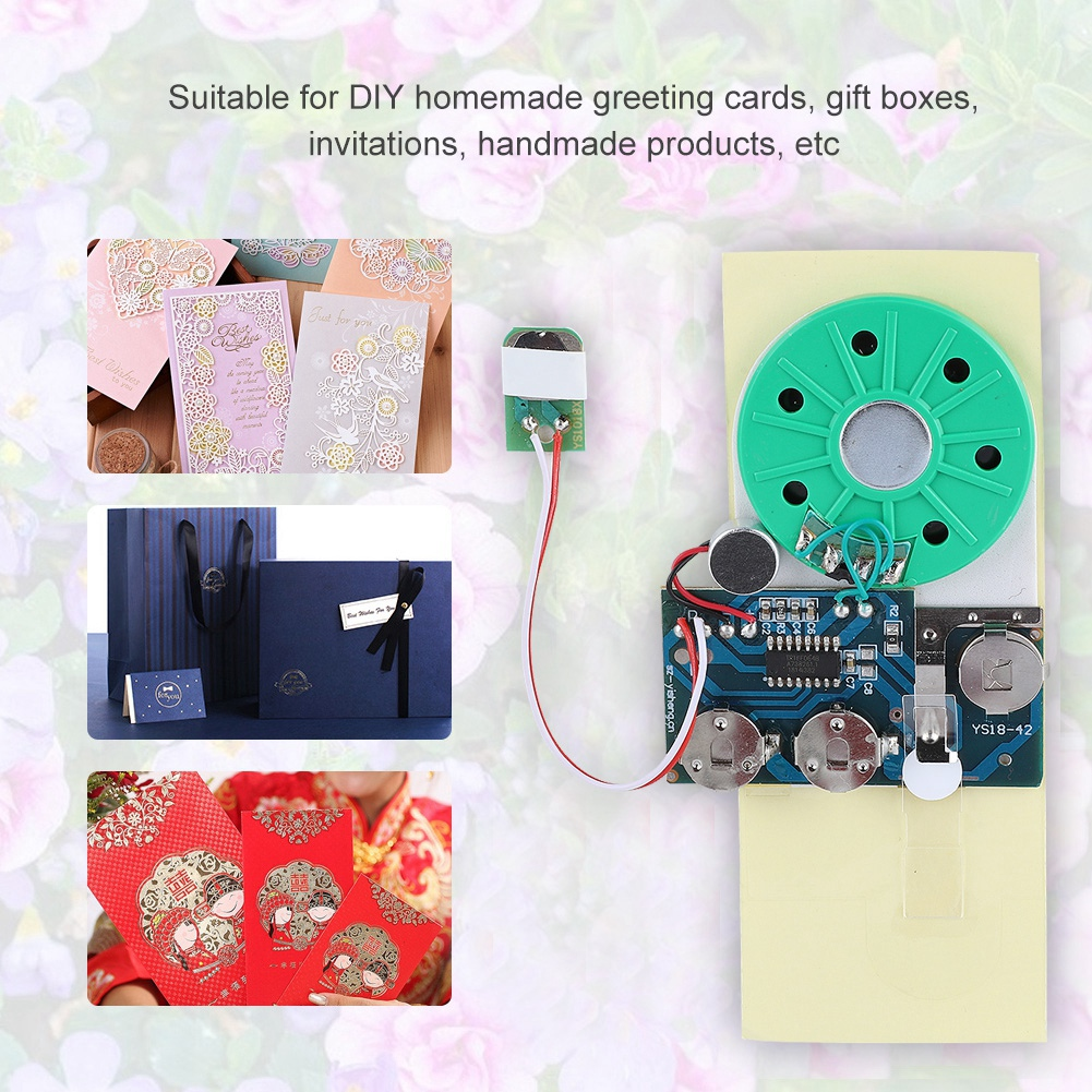 OTVIAP Recordable Voice Module, Recordable Greeting Card ...