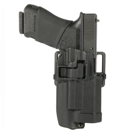 Blackhawk! Serpa CF, Belt & Paddle Holster Right Hand, Glock 17 + Xiphos, Plain Matte Black Finish by Generic