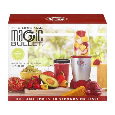 Magic Bullet, 11-Piece, Red