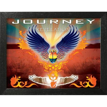 Journey Framed - Journey - Revelation, 2008 Framed Poster Wall Art