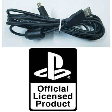 OFFICIAL USB CHARGER CHARGING CABLE CORD FOR DUALSHOCK PLAYSTATION 3 (002 Usb Usb Console)