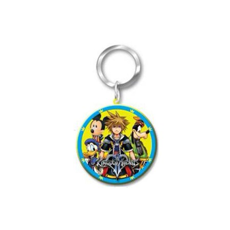 Kingdom Hearts Laser Cut Rubber