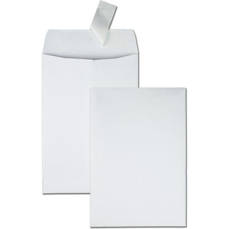 Quality Park, QUA44334, Redi-Strip Catalog Envelopes, 100 / Box, White