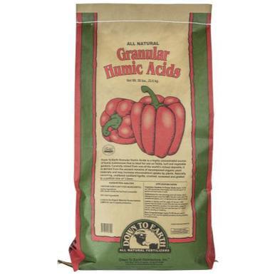 Down to Earth Granular Humic Acid - 50 lb
