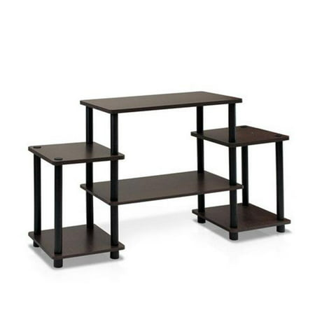 Turn-N-Tube No Tools Entertainment Center, Black & Grey - 22.85 x 41.5 x 11.6 in. - image 1 of 1
