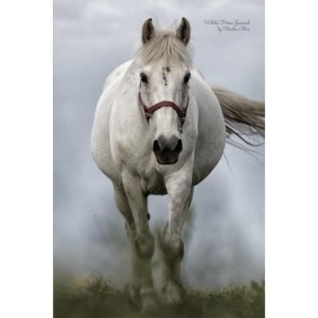 White Horse Journal: (Blank Book, Notebook, Diary)