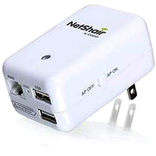 IOGear NetShair Portable WiFi Router and USB Media Hub